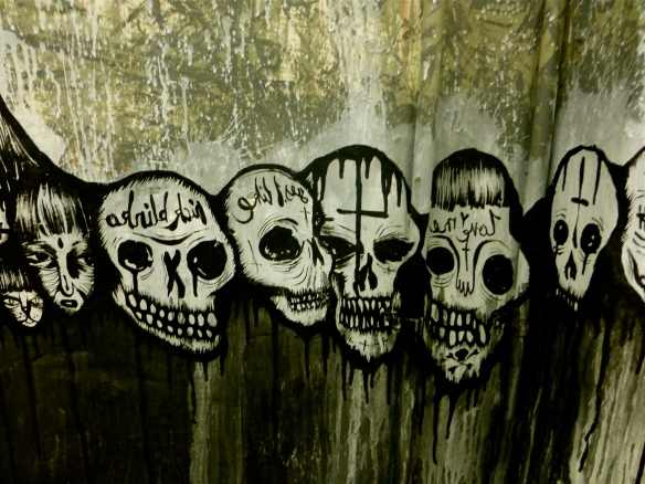 Corner Gallery mural detail